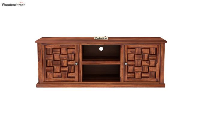 Howler Tv Unit (Honey Finish)-3