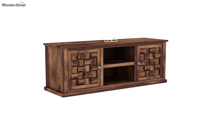 Howler Tv Unit (Teak Finish)-2