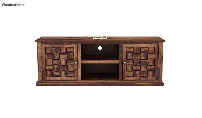Howler Tv Unit (Teak Finish)-3