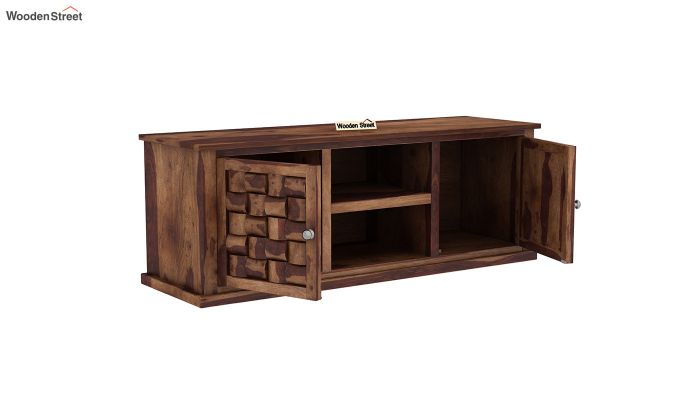 Howler Tv Unit (Teak Finish)-4