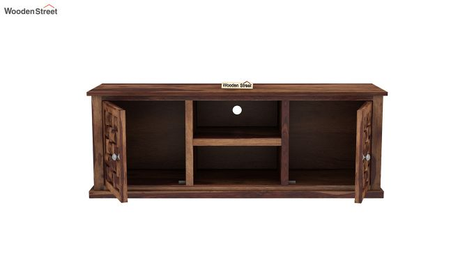 Howler Tv Unit (Teak Finish)-5