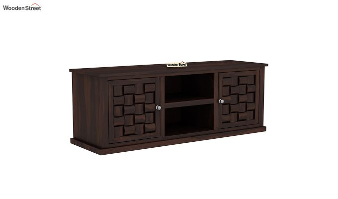 Howler Tv Unit (Walnut Finish)-2