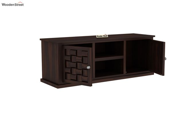 Howler Tv Unit (Walnut Finish)-4