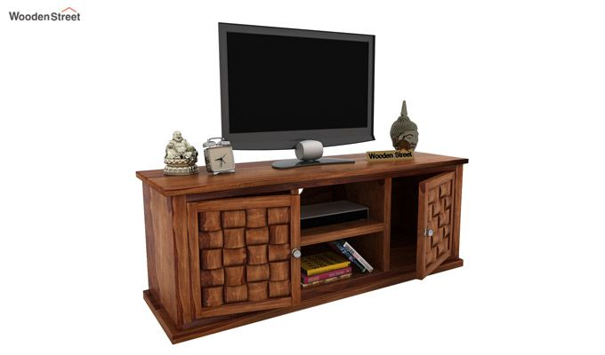 Howler Tv Unit (Teak Finish)-1