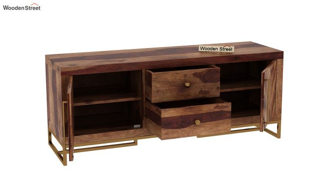 Jett Compact Tv Unit (Teak Finish)-5