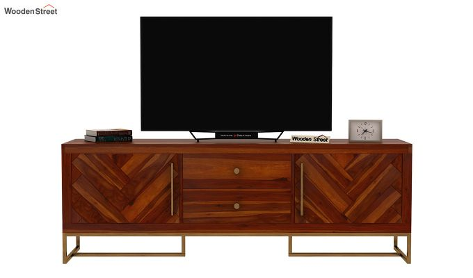 Jett Tv Unit (Honey Finish)-4