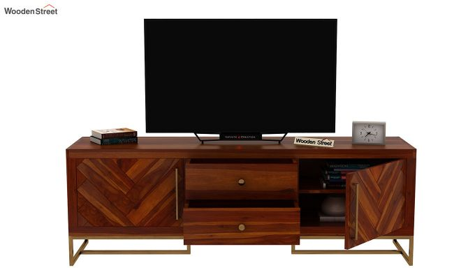 Jett Tv Unit (Honey Finish)-6