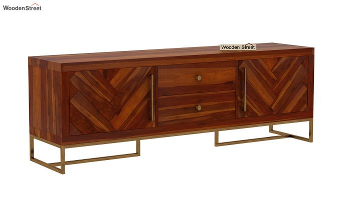 Jett Tv Unit (Honey Finish)-7