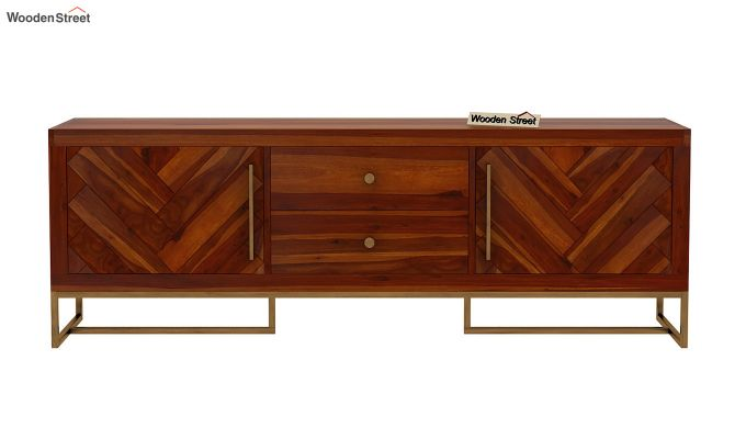 Jett Tv Unit (Honey Finish)-8