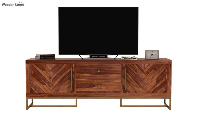 Jett Tv Unit (Teak Finish)-4