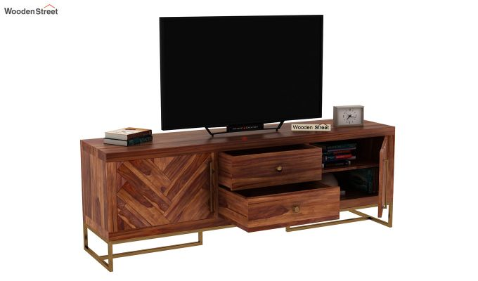 Jett Tv Unit (Teak Finish)-5