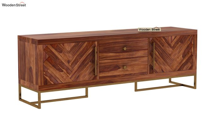 Jett Tv Unit (Teak Finish)-7