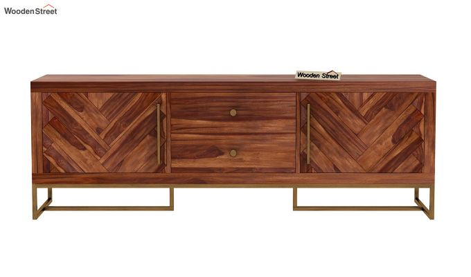 Jett Tv Unit (Teak Finish)-8