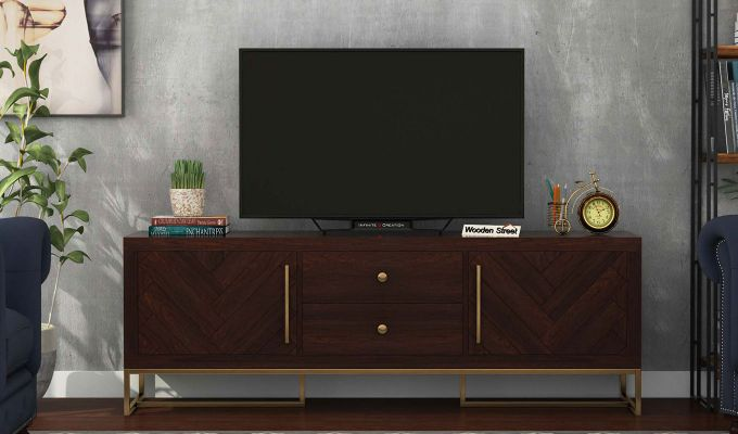 Jett Tv Unit (Walnut Finish)-2
