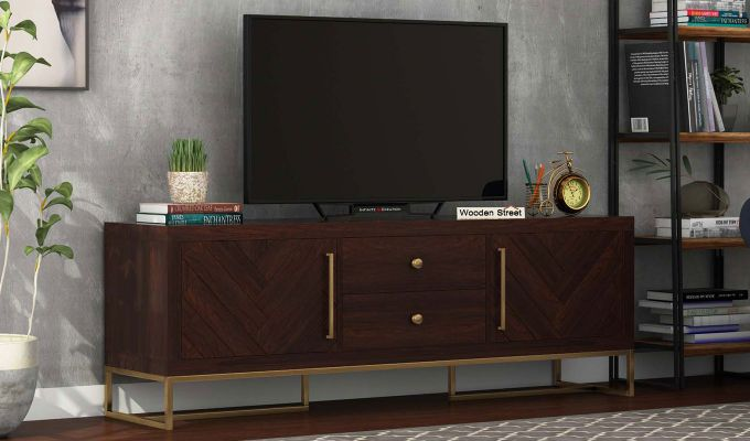 Jett Tv Unit (Walnut Finish)-1