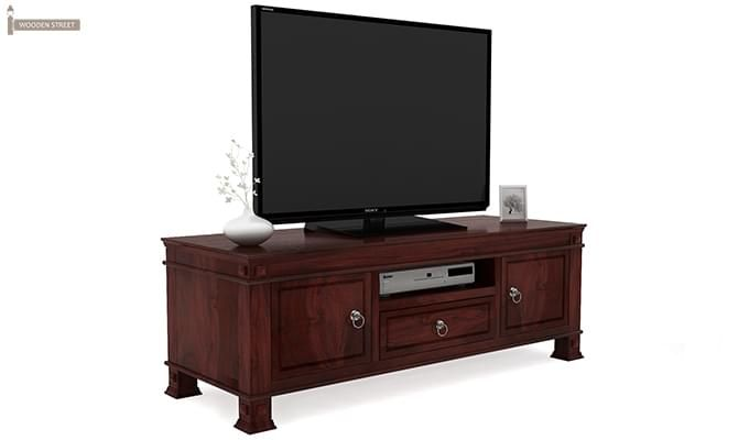 Kingsley Tv Unit (Mahogany Finish)-1