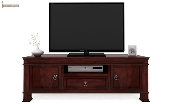 Kingsley Tv Unit (Mahogany Finish)-2