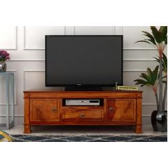 Kingsley Tv Unit (Honey Finish)