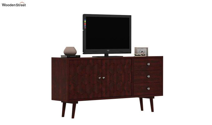 Klara Tv Unit (Mahogany Finish)-2