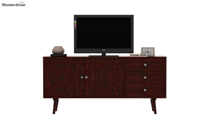 Klara Tv Unit (Mahogany Finish)-3