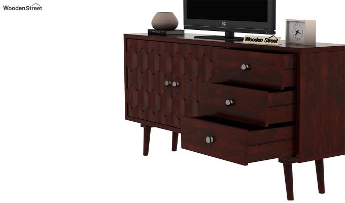 Klara Tv Unit (Mahogany Finish)-6