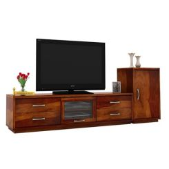Lenora Tv Unit (Honey Finish)