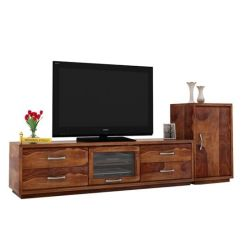Lenora Tv Unit (Teak Finish)