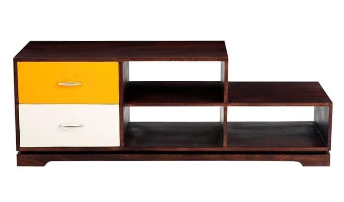 Lesly Tv Unit (Mahogany Finish)-2