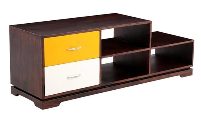 Lesly Tv Unit (Mahogany Finish)-3