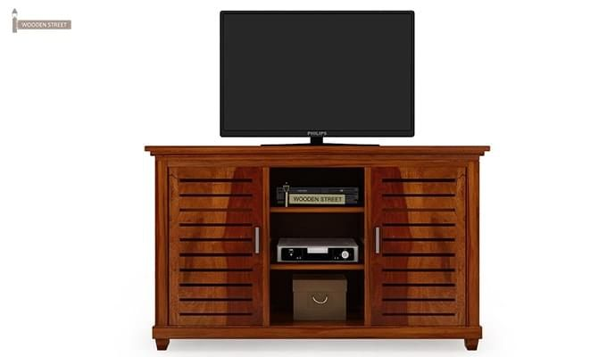 Lynet Tv Unit (Honey Finish)-2