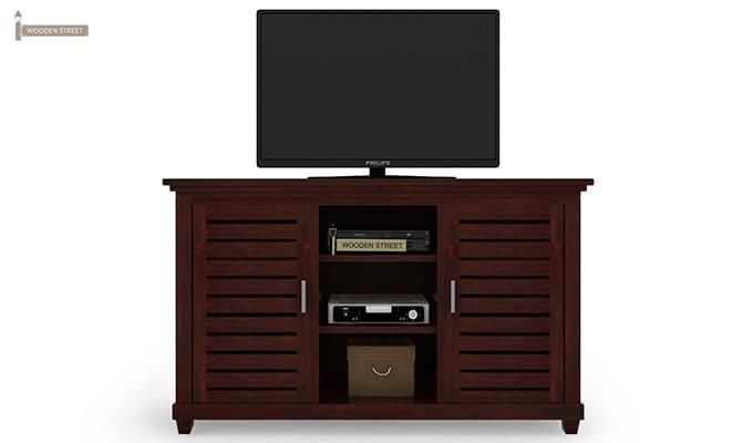 Lynet Tv Unit (Mahogany Finish)-2