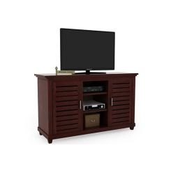 Lynet Tv Unit (Mahogany Finish)