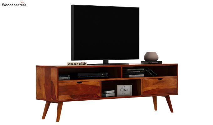 Lynton Large Tv Unit (Honey Finish)-2