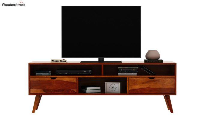 Lynton Large Tv Unit (Honey Finish)-3