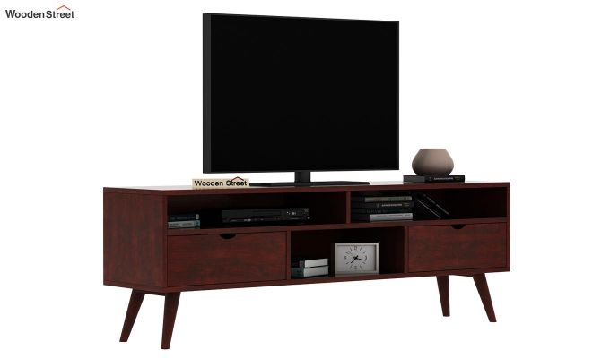 Lynton Large Tv Unit (Mahogany Finish)-2