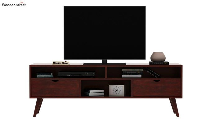 Lynton Large Tv Unit (Mahogany Finish)-3
