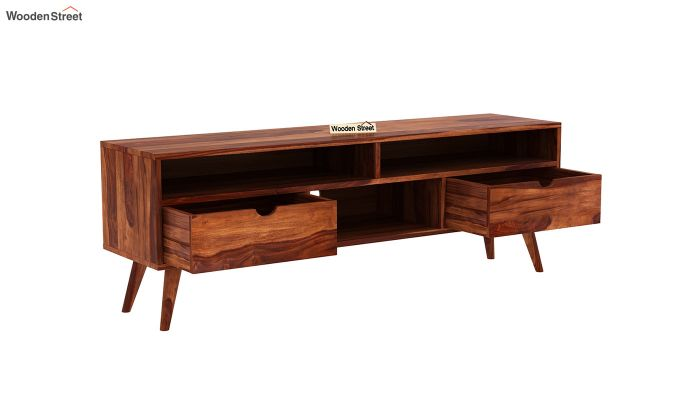 Lynton Large Tv Unit (Honey Finish)-4