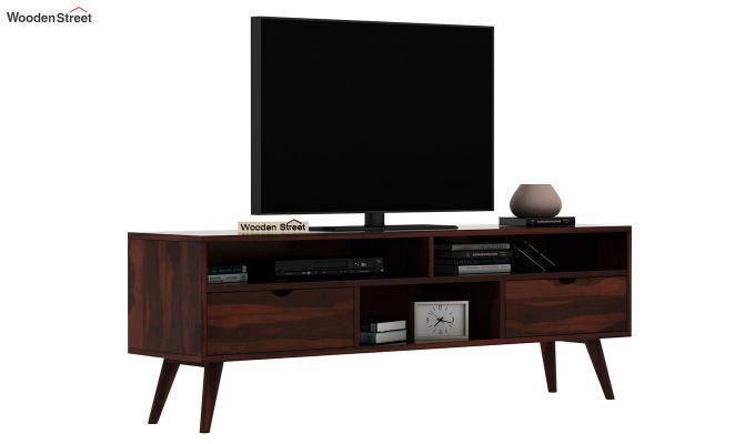 Lynton Large Tv Unit (Walnut Finish)-2