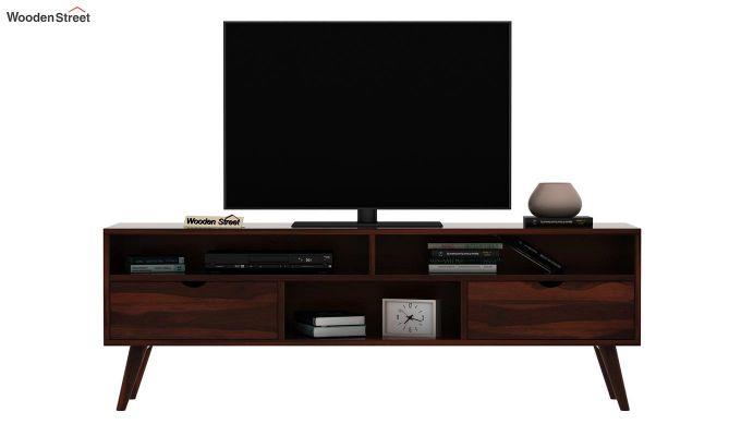 Lynton Large Tv Unit (Walnut Finish)-3