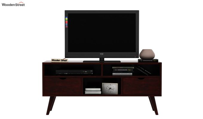 Lynton Small Tv Unit (Mahogany Finish)-2