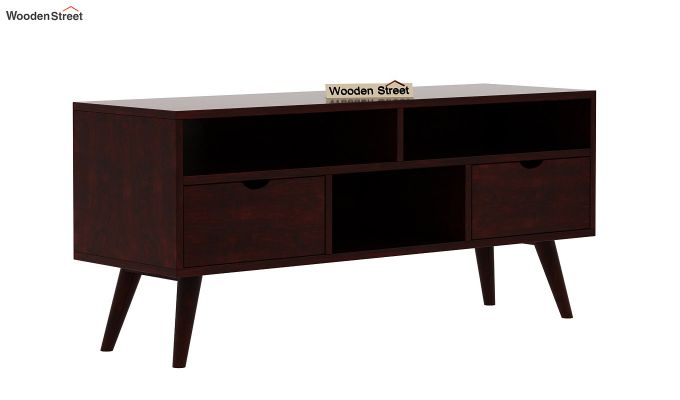 Lynton Small Tv Unit (Mahogany Finish)-3