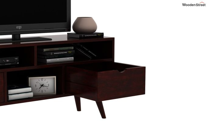 Lynton Small Tv Unit (Mahogany Finish)-5
