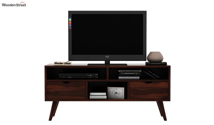 Lynton Small Tv Unit (Walnut Finish)-2