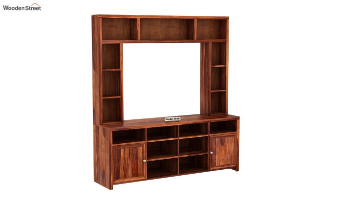 Magnum Tv Unit (Honey Finish)-3