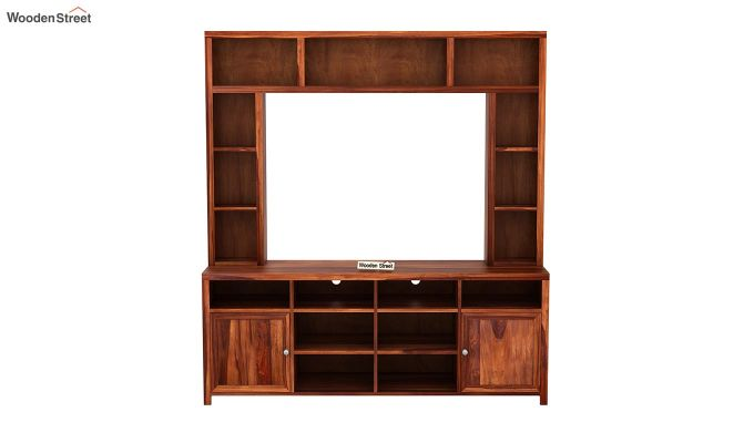 Magnum Tv Unit (Honey Finish)-4