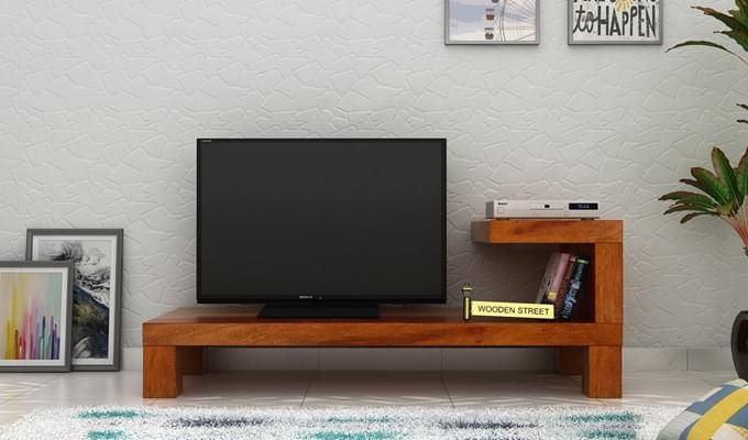 Marlon Tv Unit (Honey Finish)-1