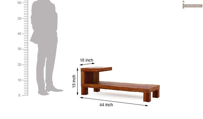 Marlon Tv Unit (Honey Finish)-5