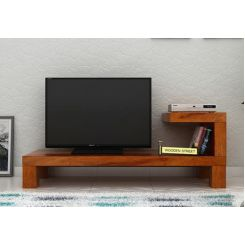 Marlon Tv Unit (Honey Finish)