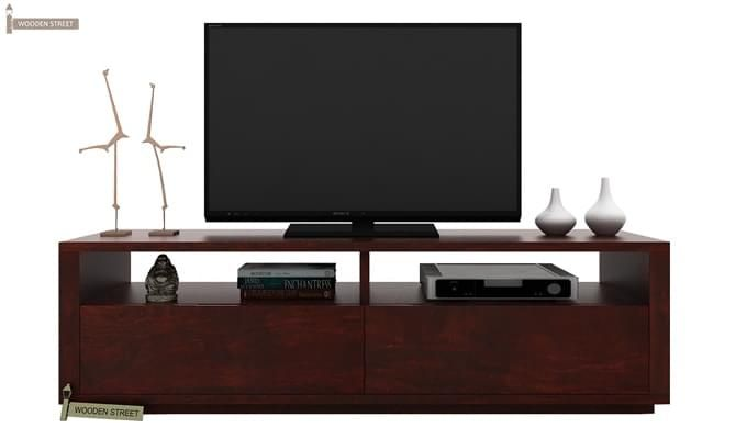 Marron Tv Unit (Mahogany Finish)-1