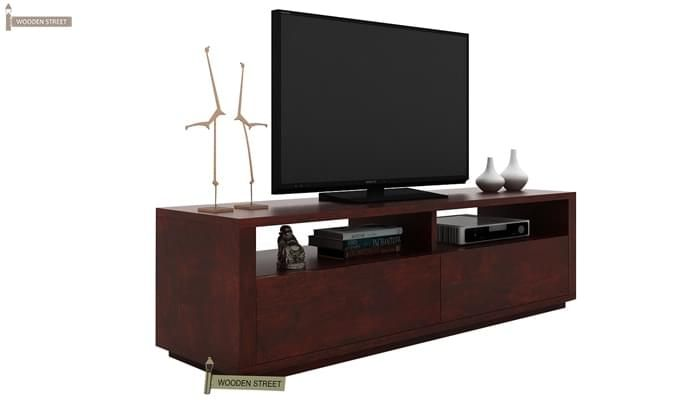 Marron Tv Unit (Mahogany Finish)-2